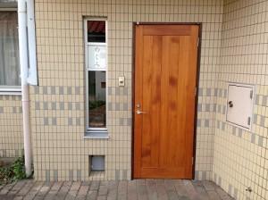 ホーム玄関